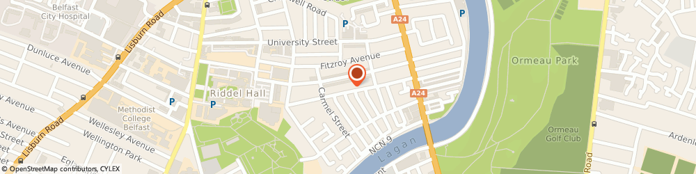 Route/map/directions to Belfast Carpet Cleaning, BT7 1RG Belfast, 48, RUGBY AVENUE