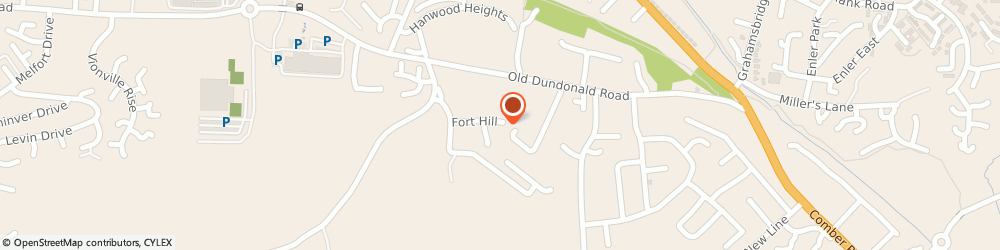 Route/map/directions to Equipment Management Solutions (Uk) Limited, BT16 1YJ Belfast, 1 THE OLD COURTYARD, OLD DUNDONALD ROAD