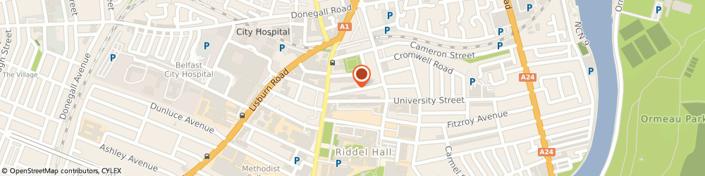 Route/map/directions to Creative Online Media Ltd, BT7 1NZ Belfast, 24 Mount Charles
