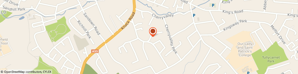 Route/map/directions to Collis Contracting, BT5 6NS Belfast, 26 WYNARD PARK