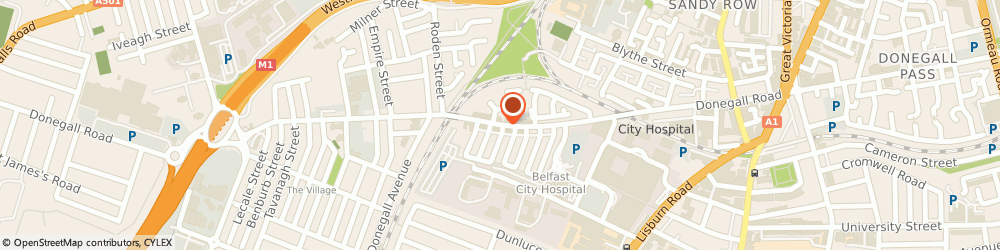 Route/map/directions to Intelligent Heating Supplies Limited, BT12 5PR Belfast, 37 Pandora St