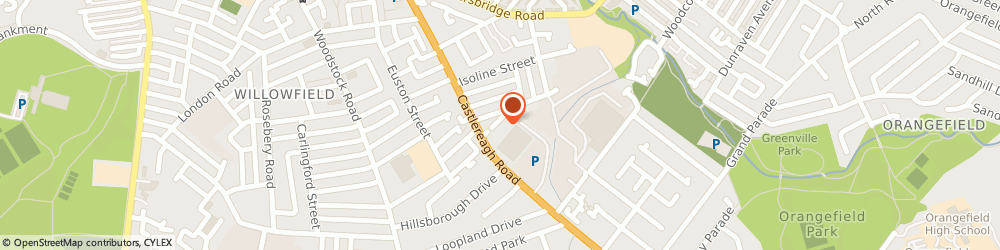 Route/map/directions to R & R Kitchens, BT5 5FS Belfast, 146-148, Castlereagh Rd