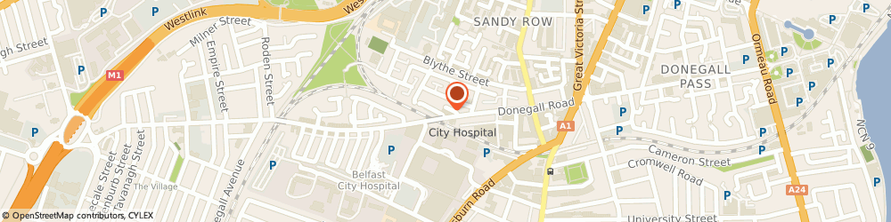 Route/map/directions to AudiencesNI, BT12 5JL Belfast, Studio D, The Carnegie Building, 121 Donegall Road