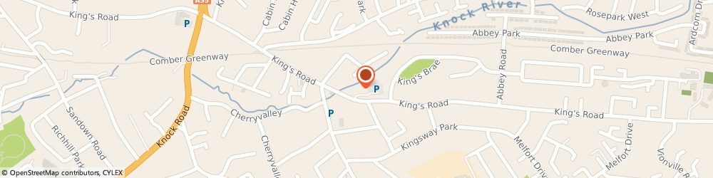 Route/map/directions to Penelope Flowers, BT5 7EA Belfast, 17 Kings Square
