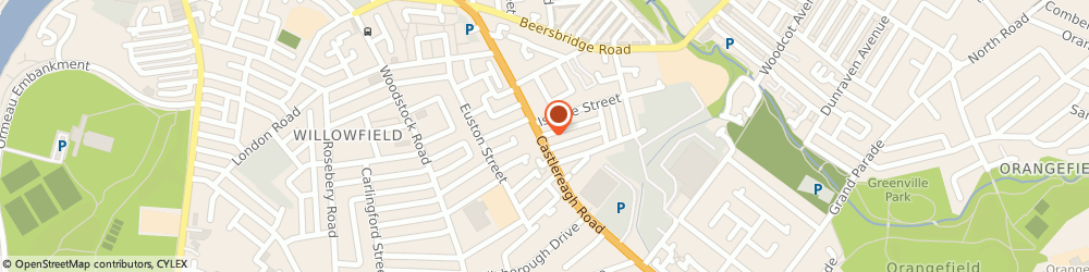 Route/map/directions to Fredas Press & Mend, BT5 5FS Belfast, 124A Castlereagh Road