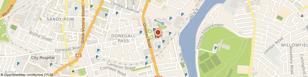 Route/map/directions to Pristine Cleaning NI and Support Services, BT7 2JA Belfast, 5 Cromac Ave