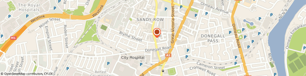 Route/map/directions to Scullery, BT12 5ET Belfast, 127  Sandy Row