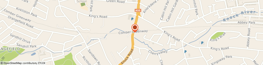Route/map/directions to The Police Service Of Northern Ireland, BT5 6LD Belfast, 65 Knock Rd