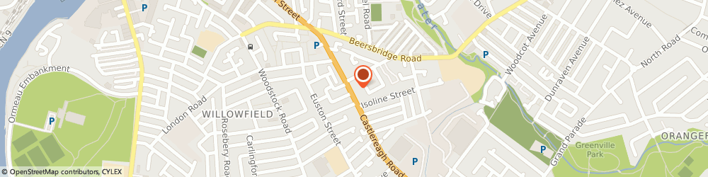 Route/map/directions to Vwp Architects Ltd, BT5 5FR Belfast, 90 Castlereagh Rd