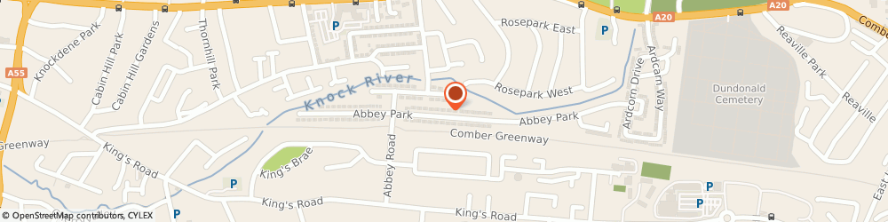Route/map/directions to Oven Cleaning Solutions NI, BT5 7HR Belfast, 78 Abbey Park
