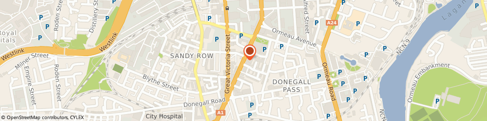 Route/map/directions to Emerald City Chinese, BT2 7HE Belfast, 59 Dublin Road