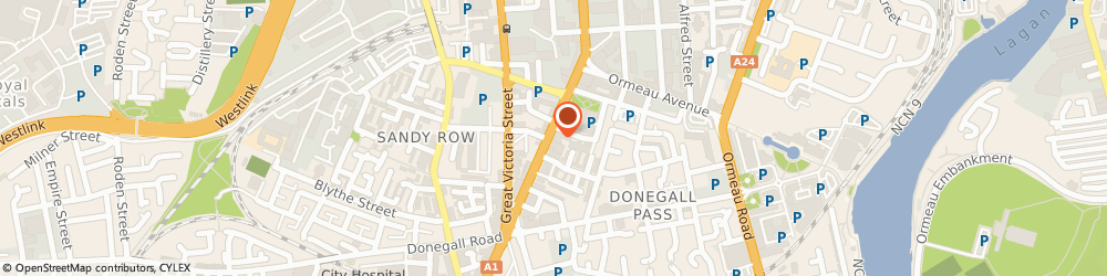 Route/map/directions to ODYSSEY PARENTING NI LIMITED, BT2 7HN Belfast, 42 Dublin Road