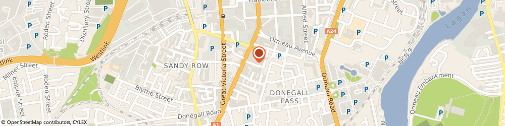 Route/map/directions to Follies Trust - The, BT7 1RP Belfast, 105 SOMERSET STUDIOS, MARCUS WARD STREET