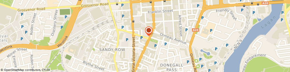 Route/map/directions to Desk Centre (N.i.) Limited-The, BT2 7JD Belfast, 11 BRUCE STREET
