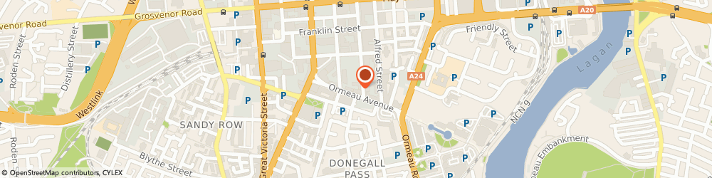 Route/map/directions to Art Services, BT2 8HD Belfast, 17A ORMEAU AVENUE