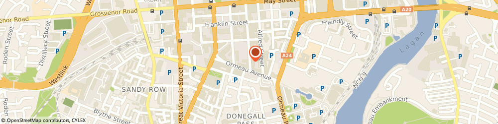 Route/map/directions to Central Services Agency For Health & Personal Social Services, BT2 8FH Belfast, 25 27 . ADELAIDE STREET