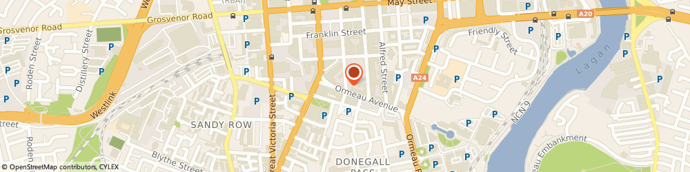 Route/map/directions to Nicare, BT2 8BS Belfast, 12/22 LINENHALL STREET
