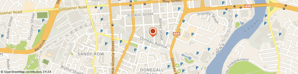 Route/map/directions to Classis Ltd, BT2 8GD Belfast, ROCHESTER BUILDING