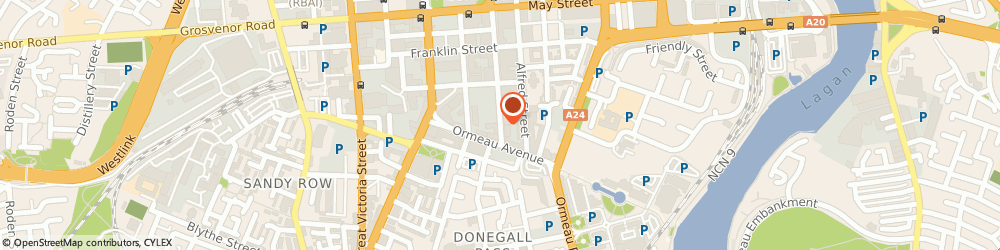 Route/map/directions to Spence & Partners, BT2 8FE Belfast, 27-37 Adelaide Street