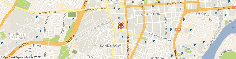 Route/map/directions to Ginger Bistro, BT12 5EE Belfast, 7-8 Hope Street