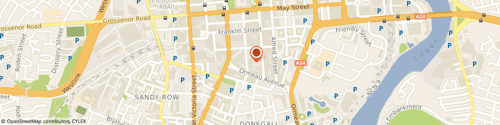 Route/map/directions to E G S a, BT2 8HS Belfast, 40 Linenhall St