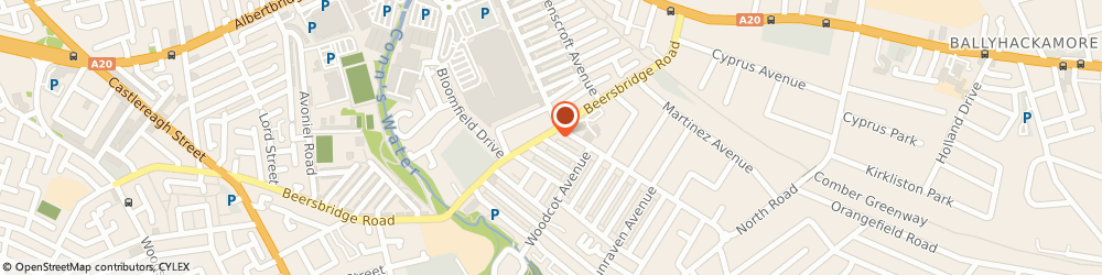Route/map/directions to Deli-Licious, BT5 5DT Belfast, 373 Beersbridge Rd