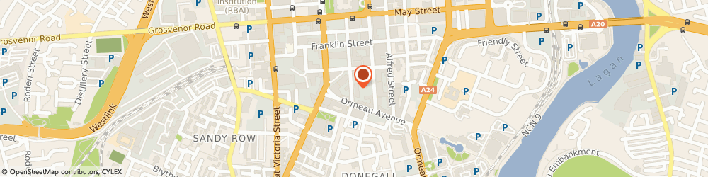 Route/map/directions to Bradstock Insurance Brokers Ltd, BT2 8BA Belfast, 40 LINENHALL STREET