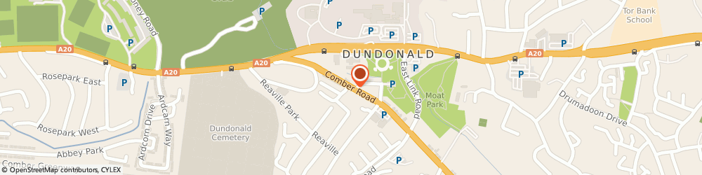 Route/map/directions to Rosemary Mcwatters, BT16 2AA Dundonald, 41 Comber Road