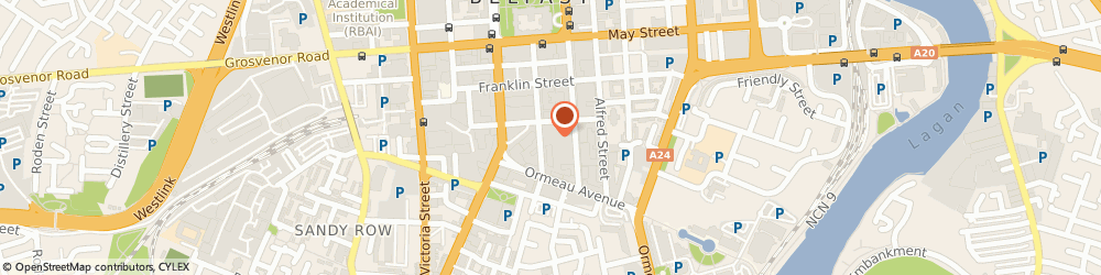 Route/map/directions to Companies House, BT2 8BG Belfast, 32-38 Linenhall Street