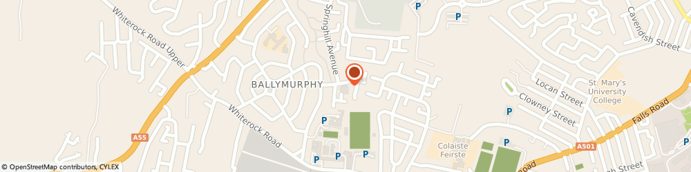 Route/map/directions to Corpus Christie Services, BT12 7SH Belfast, 2B Springhill Drive