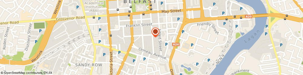 Route/map/directions to Moovva.com, BT2 8FE Belfast, 55-59 Adelaide St