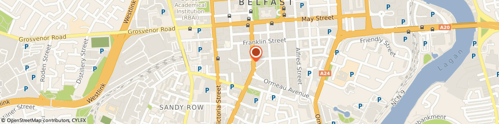 Route/map/directions to CARRICK ROAD ENERGY LIMITED, BT2 7EJ Belfast, 19 Bedford Street