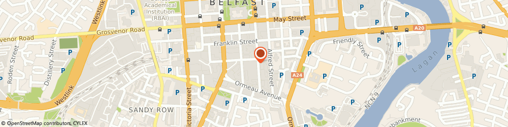 Route/map/directions to IN4SENTRY LTD, BT2 8FE Belfast, 55 - 59 Adelaide Street