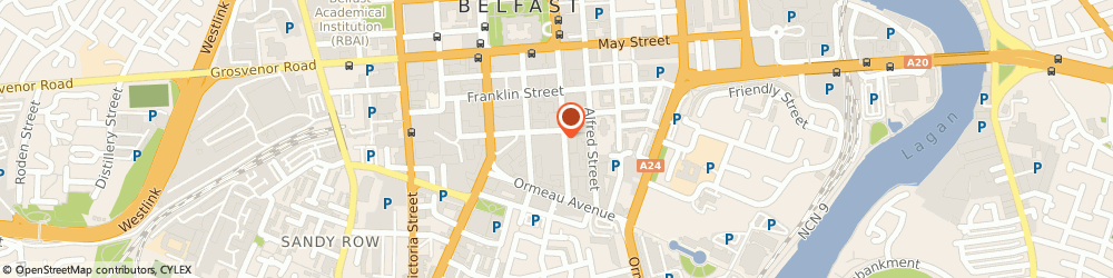 Route/map/directions to SIMPLICITY ACCOUNTING LIMITED, BT3 8FE Belfast, 55-59 Adelaide St