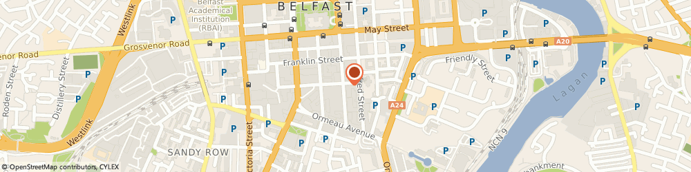 Route/map/directions to Adelaide Commercial Finance, BT1 1QF Belfast, 11 Rosemary St