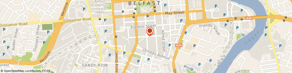 Route/map/directions to Allianz (Northern Ireland), BT2 8AB Belfast, 21 LINENHALL STREET