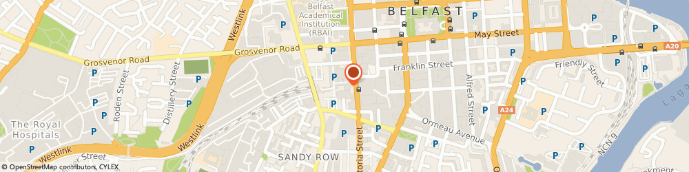 Route/map/directions to Metro Barbers Hair & Beauty, BT2 7GN Belfast, Unit 14, Great Northern Mall, Great Victoria St