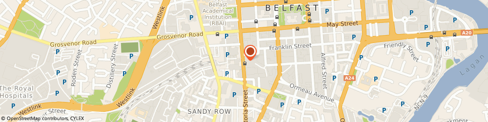 Route/map/directions to Pitman Training, BT2 7BB Belfast, 2nd Floor, Andras House, 60 Great Victoria Street