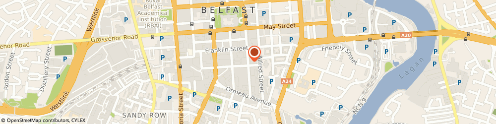 Route/map/directions to Margarita Plaza Management Company Limited, BT2 8FF Belfast, 81 Adelaide Street