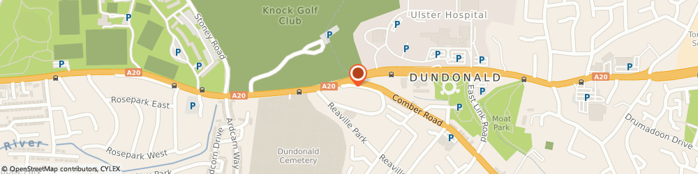 Route/map/directions to Dental Care Dundonald, BT16 2QY Belfast, 789 Upper Newtownards Road