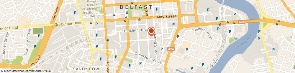Route/map/directions to Department For Regional Development, BT2 8GB Belfast, Clarence Court, 10-18 Adelaide Street