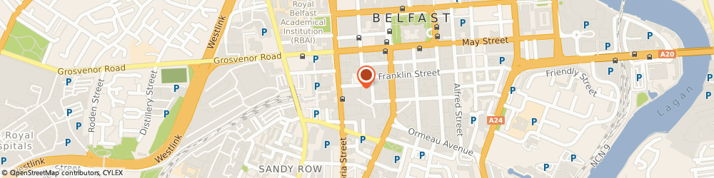 Route/map/directions to Very Cheap Car Insurance, BT2 7GS Belfast, 8-10 Amelia Street