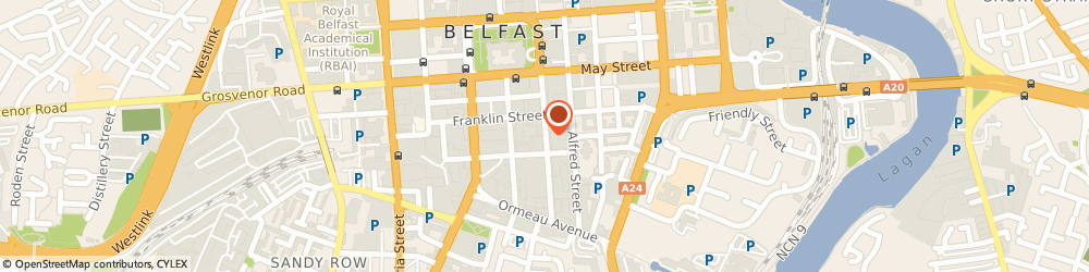 Route/map/directions to Government Of Nothern Ireland, BT2 8GB Belfast, CLARENCE COURT, 10-18 ADELAIDE STREET
