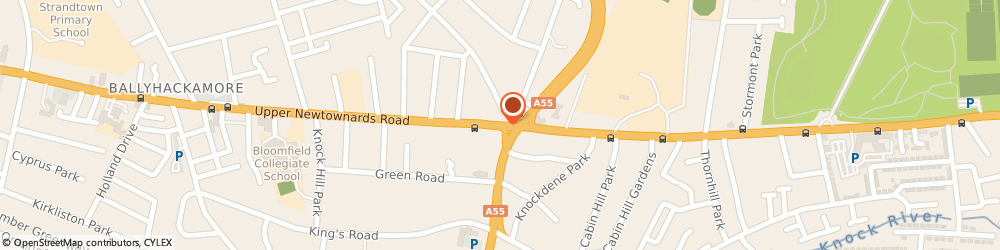 Route/map/directions to Select Cut, BT4 3EY Belfast, 380 UPPER NEWTOWNARDS ROAD