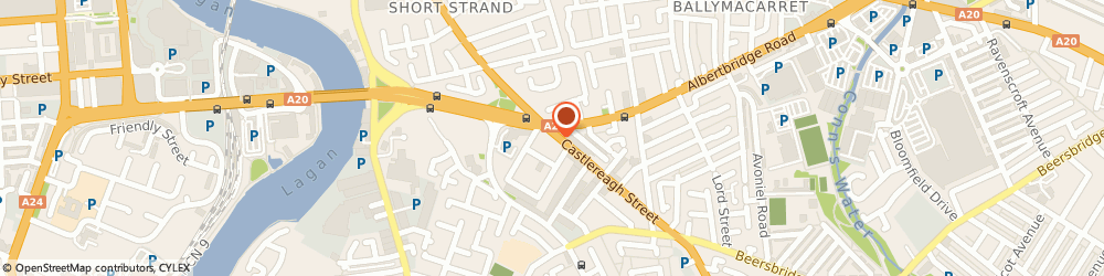 Route/map/directions to Gahan and Long Ltd, BT5 4NE Belfast, 7-9 Castlereagh Street