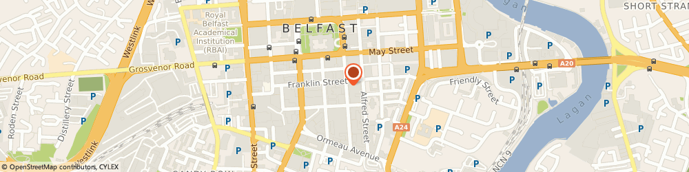 Route/map/directions to Dept.of The Environment N.i. Belfast, BT2 8GB Belfast, CLARENCE COURT, 10-18 ADELAIDE STREET