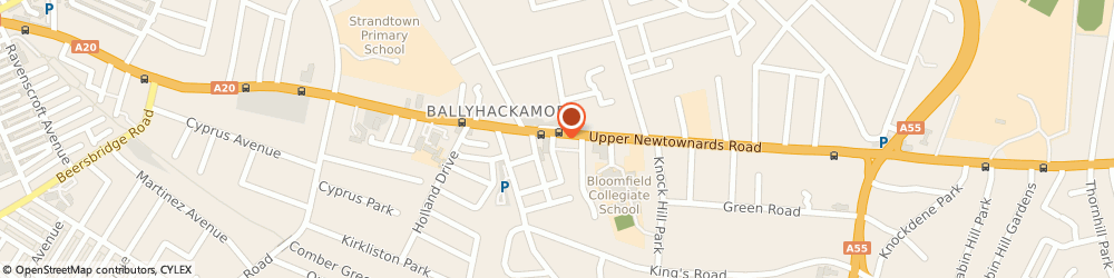 Route/map/directions to Ying Gui, BT4 3JF Belfast, 265-267 UPPER NEWTOWNARDS ROAD