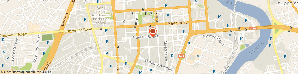Route/map/directions to Eastern Childcare Partnership, BT2 8BS Belfast, 12-22 LINENHALL STREET