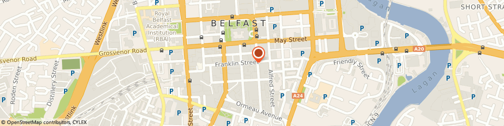 Route/map/directions to NFU Mutual Careers, BT2 8GE Belfast, Adelaide Street