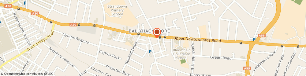Route/map/directions to Neill's Hill Brasserie, BT4 3JF Belfast, 229 Upper Newtownards Rd